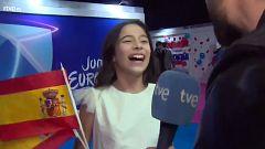 """Melani tras quedar tercera en Eurovisión Junior: """"Lo voy a celebrar comiendo un helado"""""""