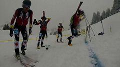 Esquí de montaña - Road to Lausanne 2020. Jóvenes promesas del esquí de montaña español