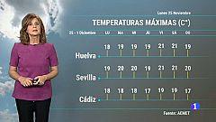 El tiempo en Andalucía - 25/11/19