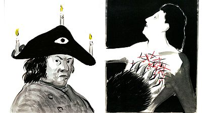 'El Roto' homenajea a Goya en El Prado