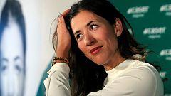 """Garbiñe Muguruza:""""Estoy muy contenta de trabajar con Conchita"""""""