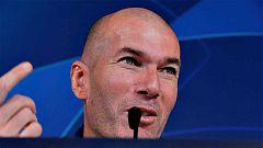 """Zidane: """"Estoy enamorado de Mbappe"""""""