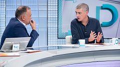 """Oskar Matute sigue condicionando el apoyo de Bildu a la investidura al """"diálogo"""" sobre autodeterminación"""