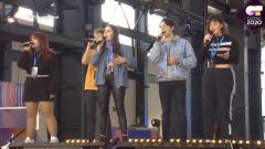 """Operación Triunfo - Hugo, Flavio, Ariadna, Alba y Ángeles interpretan """"Pienso en tu mirá"""""""