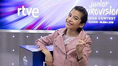 Melani, tercera en Eurovisión Junior