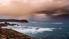 Precipitaciones localmente fuertes y persistentes en el oeste de Galicia