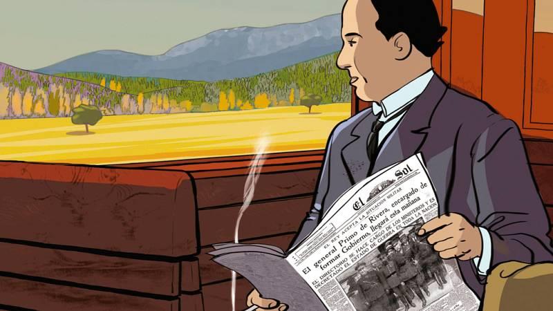 La vida de Antonio Machado llega al cómic de la mano de Ian Gibson y Quique Palomo