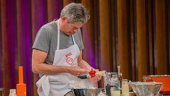 MasterChef Celebrity 4 - Boris, perdido interpretando el plato de Jordi Cruz