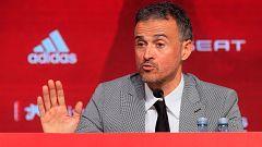 """Luis Enrique: """"Robert Moreno fue desleal, no quiero a nadie así en mi staff"""""""