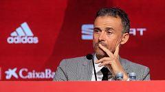 Fútbol - Presentación Luis Enrique. Seleccionador español de fútbol