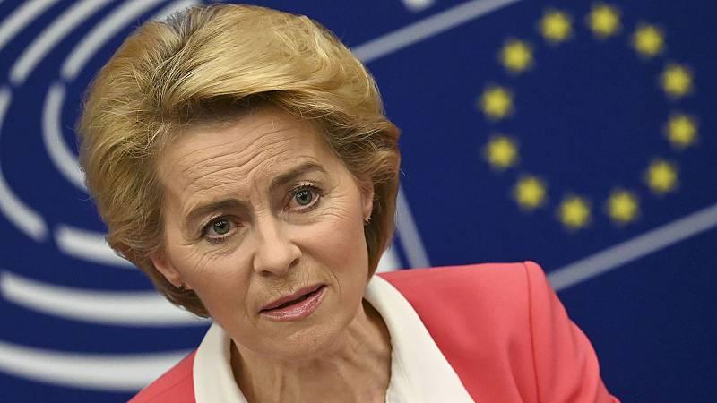 El Parlamento Europeo ratifica la Comisión de Ursula von der Leyen