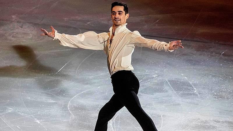 El patinador Javier Fernández ha estado en TDP Club en plena gira de su 'Revolution on ice', espectáculo con el que está llevando su patinaje a muchas ciudades de España.