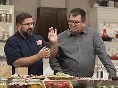 """Christian Palacios, experto en garrofón, visita """"Hacer de comer"""""""