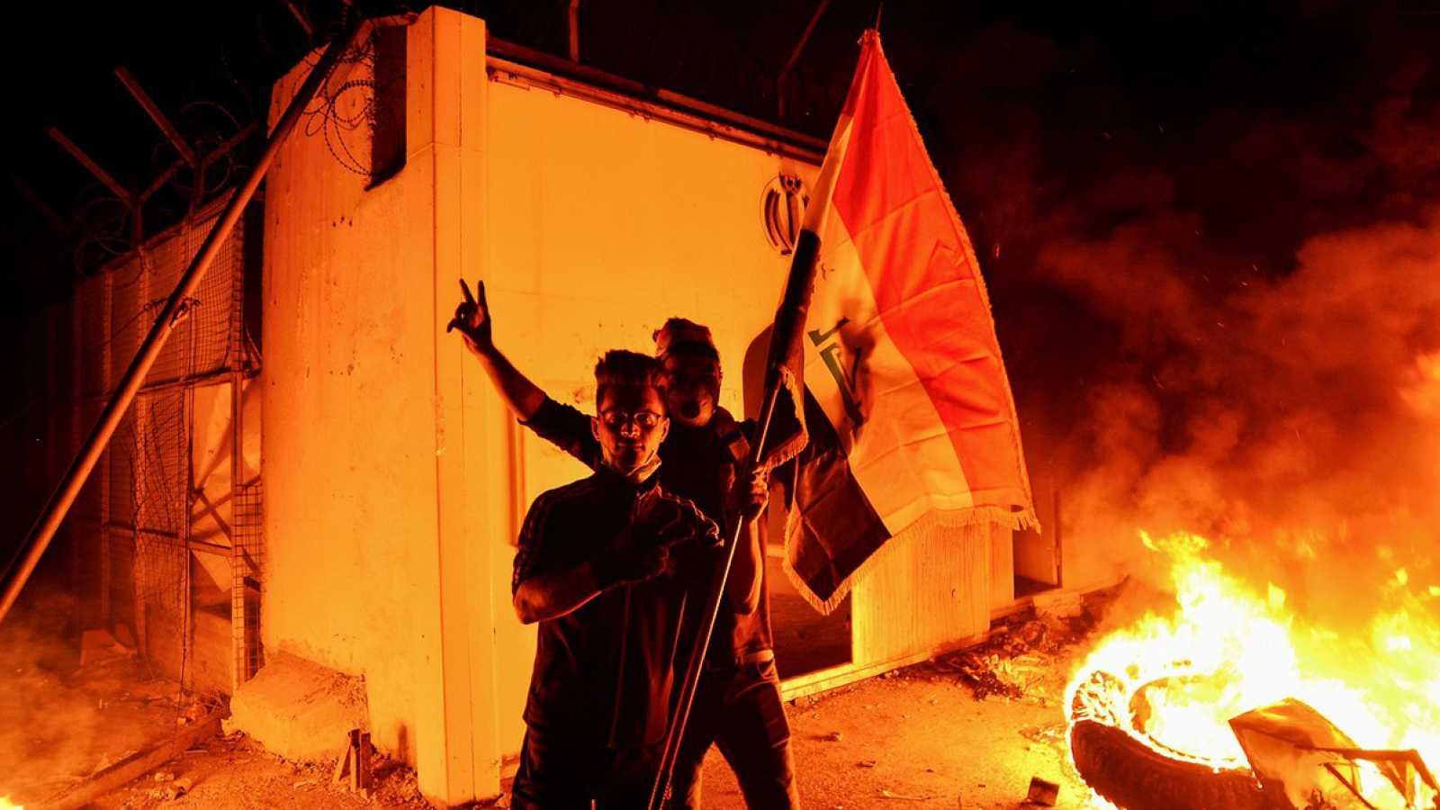 Las protestas en Irak continúan y suman otros 14 muertos en Nasiriya