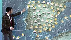 Cielo nuboso con lluvias débiles en el interior peninsular y temperaturas en aumento