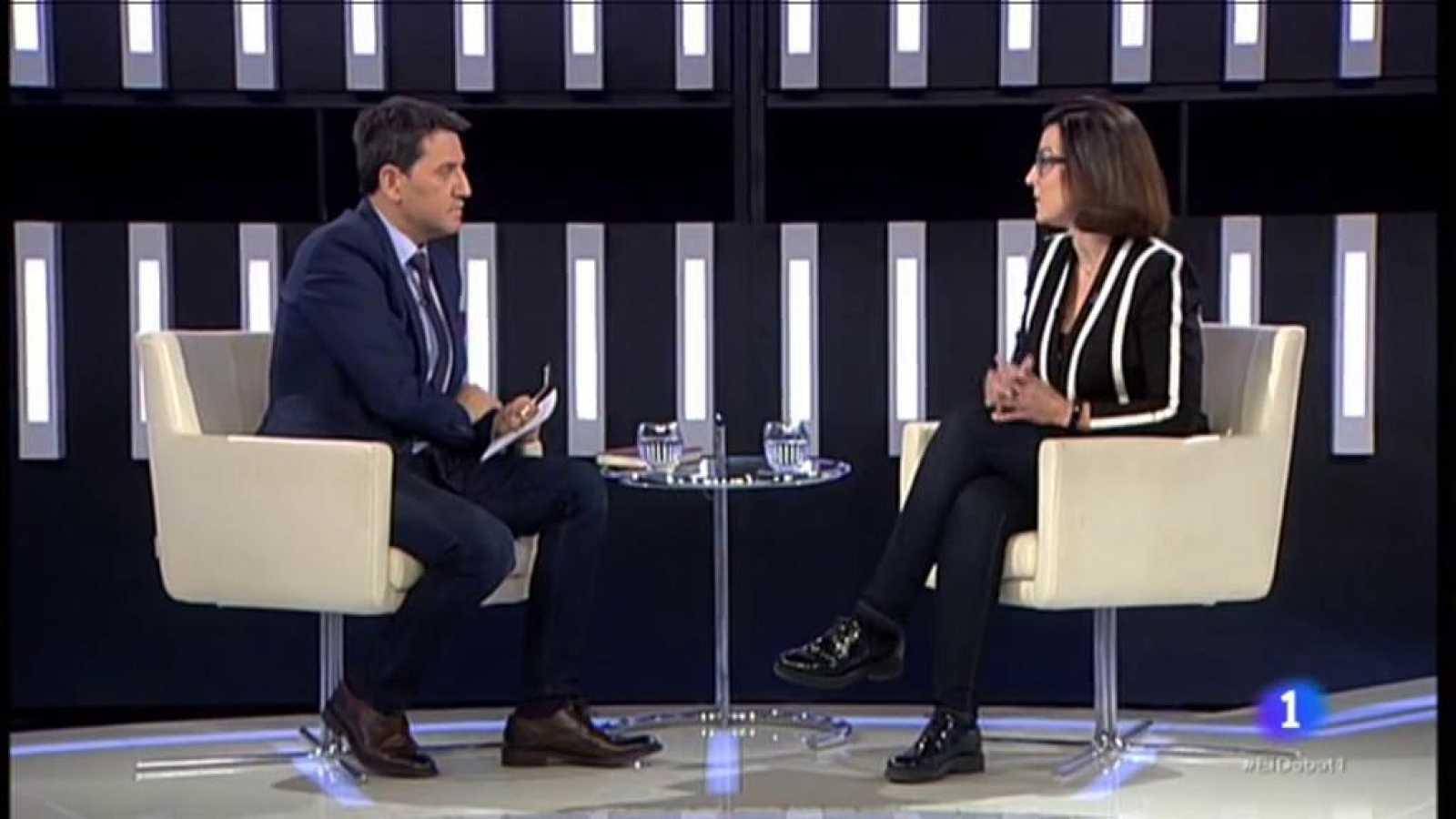 El Debat de La 1 - Eva Granados del PSC