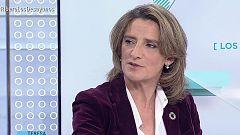 Los desayunos de TVE - Teresa Ribera, ministra en funciones para la Transición Ecológica y Luis Garicano, eurodiputado de Ciudadanos