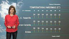El tiempo en Canarias - 29/11/2019