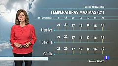 El tiempo en Andalucía - 29/11/2019