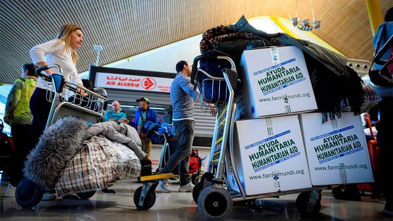 La recomendación del Gobierno de no viajar al Sáhara no frena a muchos cooperantes