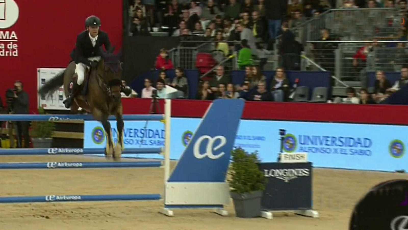 Hípica - Desde Madrid. Concurso de saltos Madrid Horse Week. Trofeo Universidad Alfonso X el Sabio - Manga ganadora 10 caballos - ver ahora