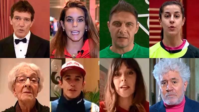 Representantes españoles de la cultura y el deporte advierten sobre el cambio climático
