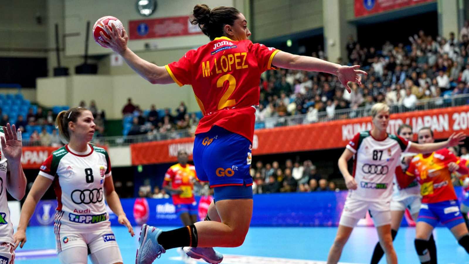 La selección española femenina de balonmano dio un paso de gigante hacia la segunda fase del Mundial de Japón, tras imponerse este domingo por 29-25 a Hungría, en un encuentro en el que el conjunto español, además de buen juego, mostró su fortaleza m