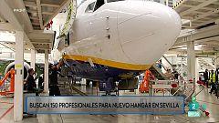 150 empleos en nuevo hangar en Sevilla