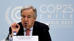 """Guterres ante la emergencia climática: """"Millones de personas piden a los líderes de todos los sectores que hagan más, mucho más"""""""