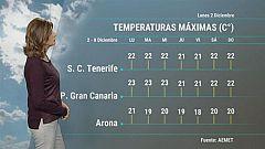 El tiempo en Canarias - 02/12/2019