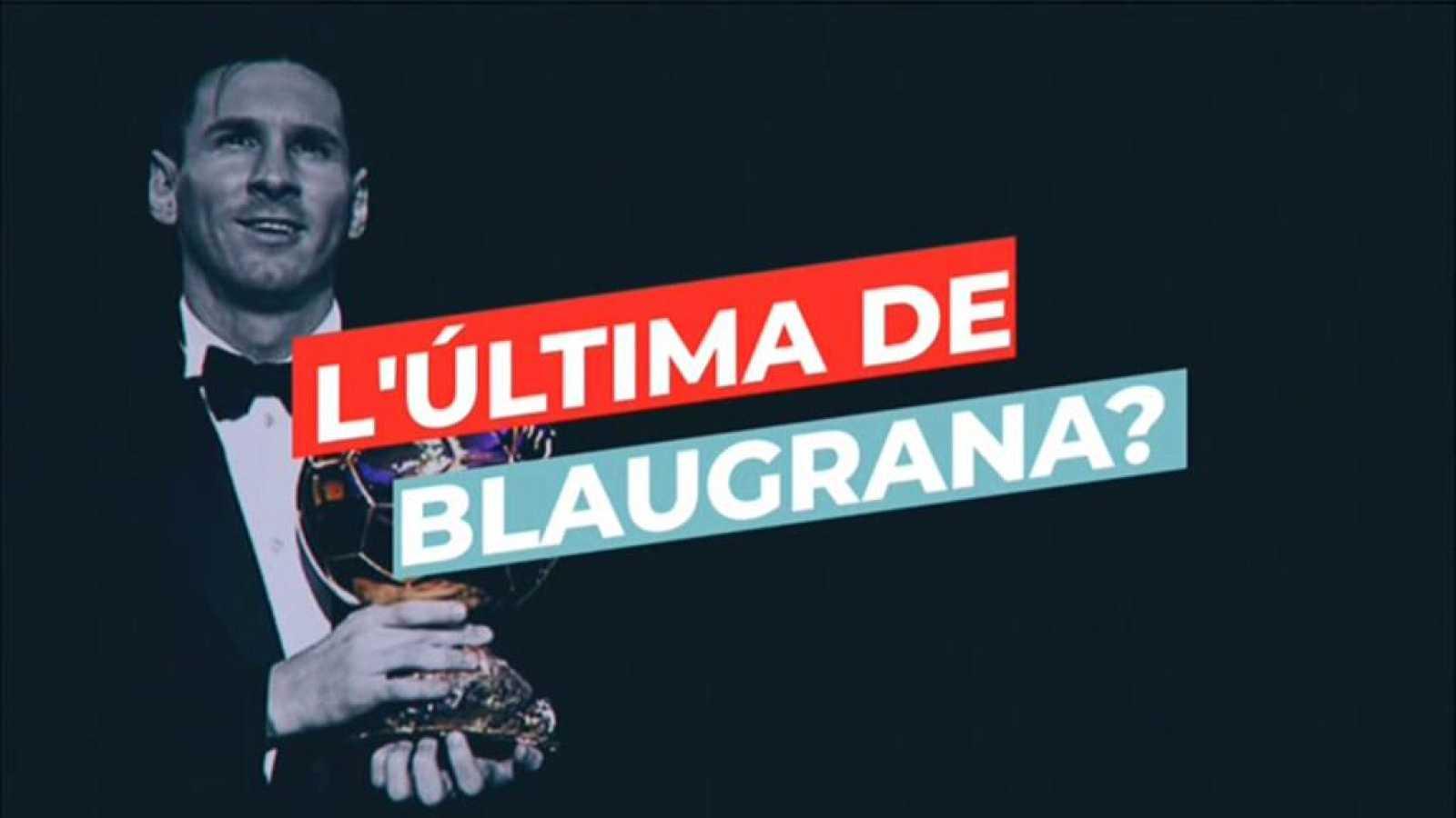 Imatges de les sis vegades que Messi ha guanyat la Pilota d'Or