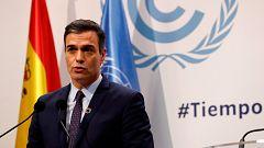 Sánchez pide a los partidos ¿dejar atrás el bloqueo y facilitar el gobierno¿ de PSOE y Unidas Podemos