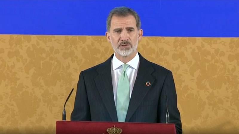 """El rey pide """"determinación"""" contra el cambio climático: """"Ninguna frontera puede protegernos de sus efectos"""""""