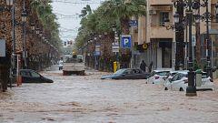 La DANA deja un centenar de evacuados en el municipio murciano de Los Alcázares