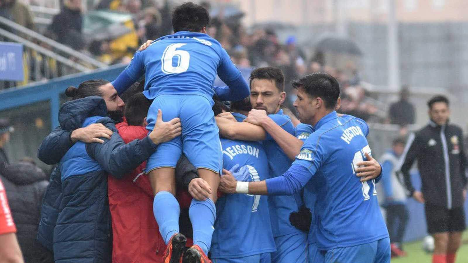 El Fuenlabrada, el equipo revelación de Segunda División