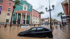 La borrasca se desplaza hacia Baleares tras dejar un centenar de evacuados en Murcia