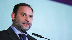 """Ábalos confirma que hay avances en las negociaciones con ERC, pero asegura que aún hay """"evidentes diferencias"""""""