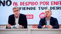 El líder de UGT visitó a Junqueras en prisión para urgirle a un pacto progresista