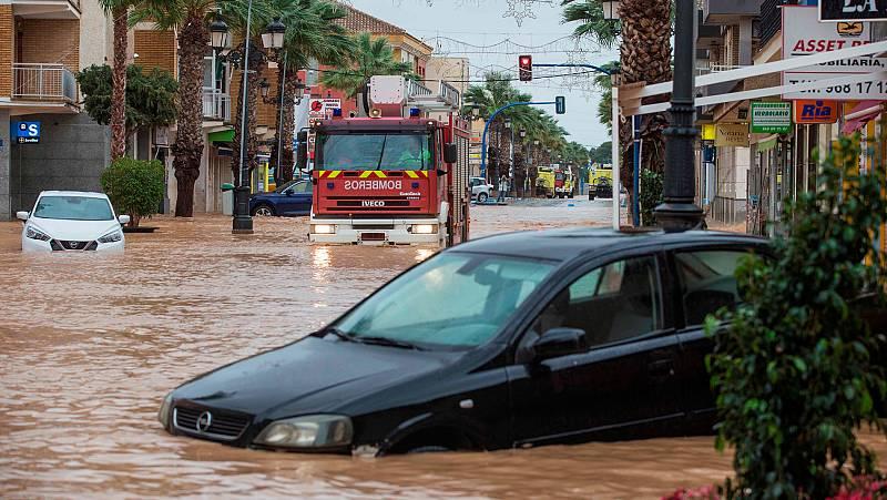 La DANA deja más de 100 litros por metro cuadrado en 12 horas en la costa mediterránea y en Baleares
