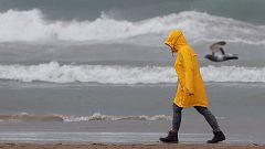 Precipitaciones muy fuertes y con tormenta en el este peninsular y Baleares