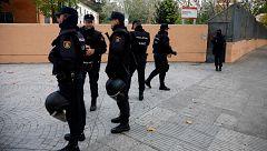 La Policía investiga la granada que ha aparecido en el centro de menores de Hortaleza y algunos partidos culpan a vox