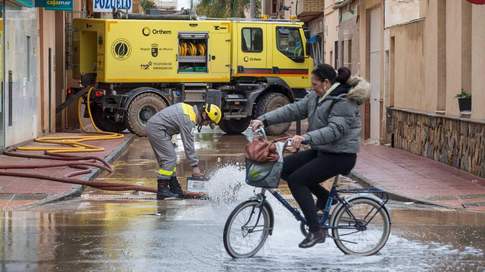 La DANA deja fuertes inundaciones y cortes de carreteras en Cataluña y Baleares