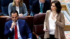 Choque entre PP y Vox en la Asamblea de Madrid por el ataque con una granada a un centro de menores extranjeros