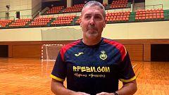 """Carlos Viver: """"Montenegro es un equipo muy duro"""""""