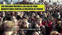 Las chilenas vuelven a la calle para manifestarse contra la violencia de género