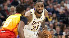 Los Lakers y los Bucks, en racha - Lo mejor de la NBA