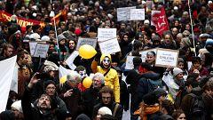 Huelga general en Francia contra la reforma de las pensiones de Macron