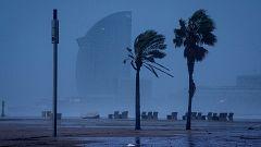 Fuertes precipitaciones en el este peninsular, Baleares y Canarias