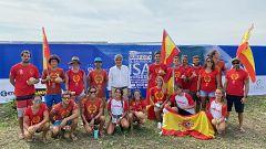 España logra la plata por equipos el Mundial de SUP de El Salvador