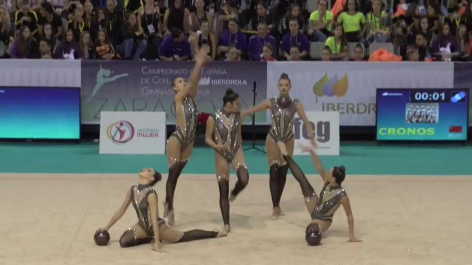 Gimnasia rítmica - Campeonato de España Conjuntos GR Iberdrola - ver ahora